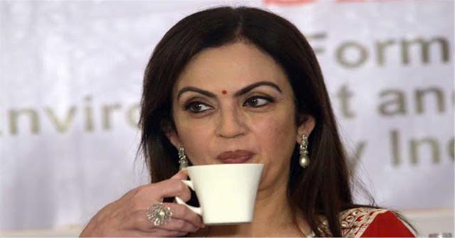 The Cost Of The Tea Which Nita Ambani Drinks Everyday Morning Is 3