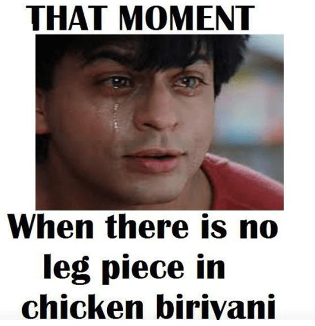 8 Things Only Biriyani Lovers Can Understand
