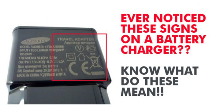 Ever Noticed These Signs On The Mobile Charger Here Is What Each