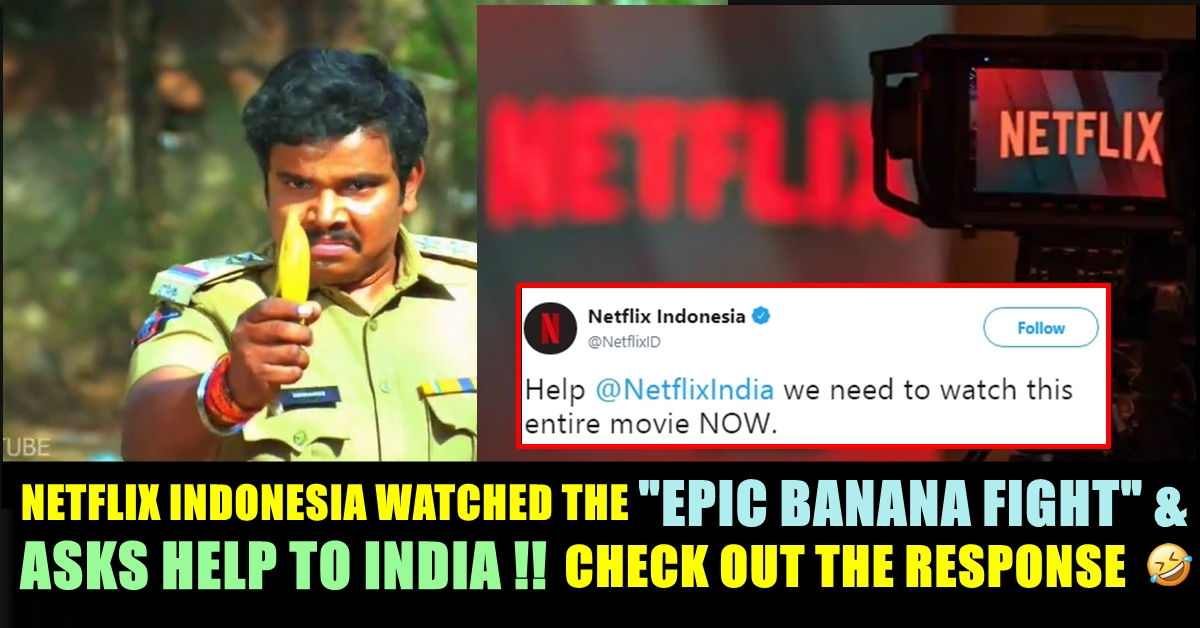 Have You Seen This EPIC Banana Fight Scene ?? Netflix
