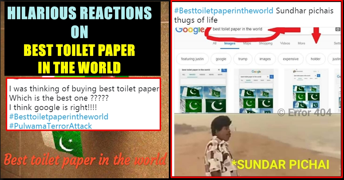 Why Pakistan S National Flag The Best Toilet Paper In The