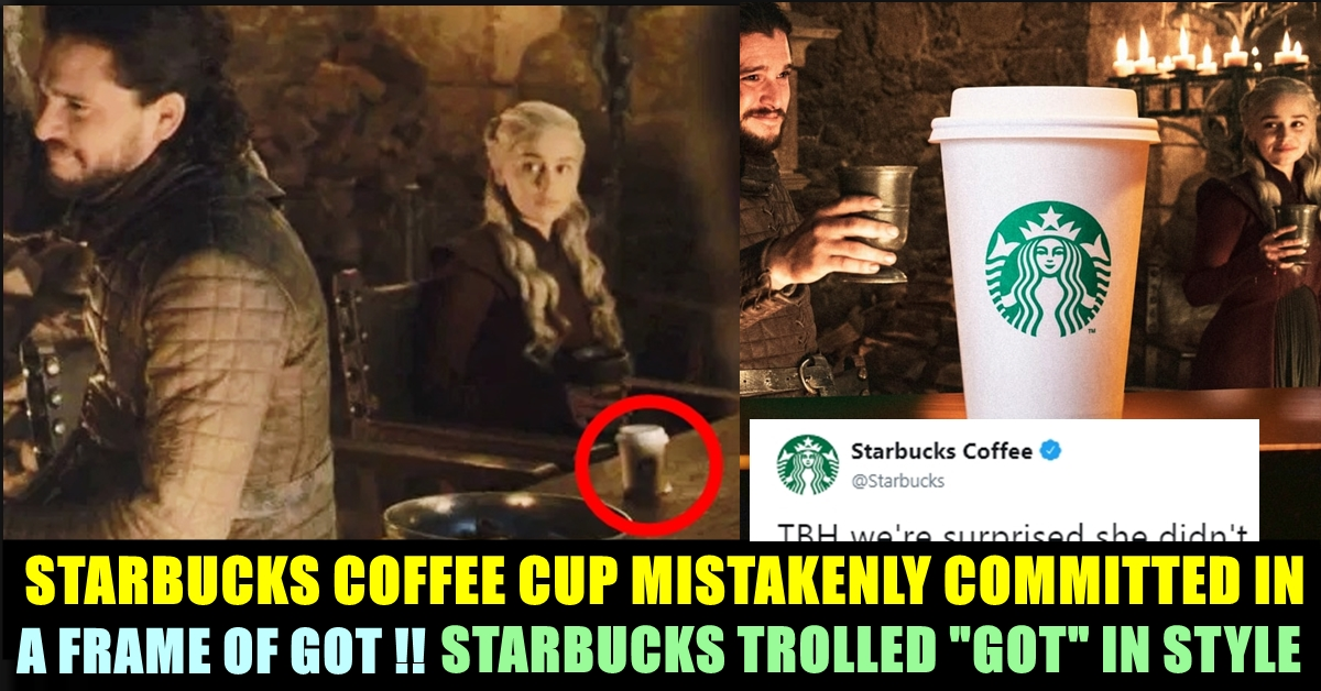 Finally Starbucks Reacts To The Coffee Cup Blunder In