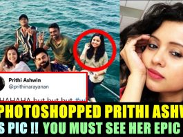 Prithi's epic reply